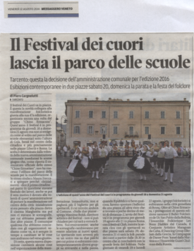 Messaggero Veneto 12.08.2016