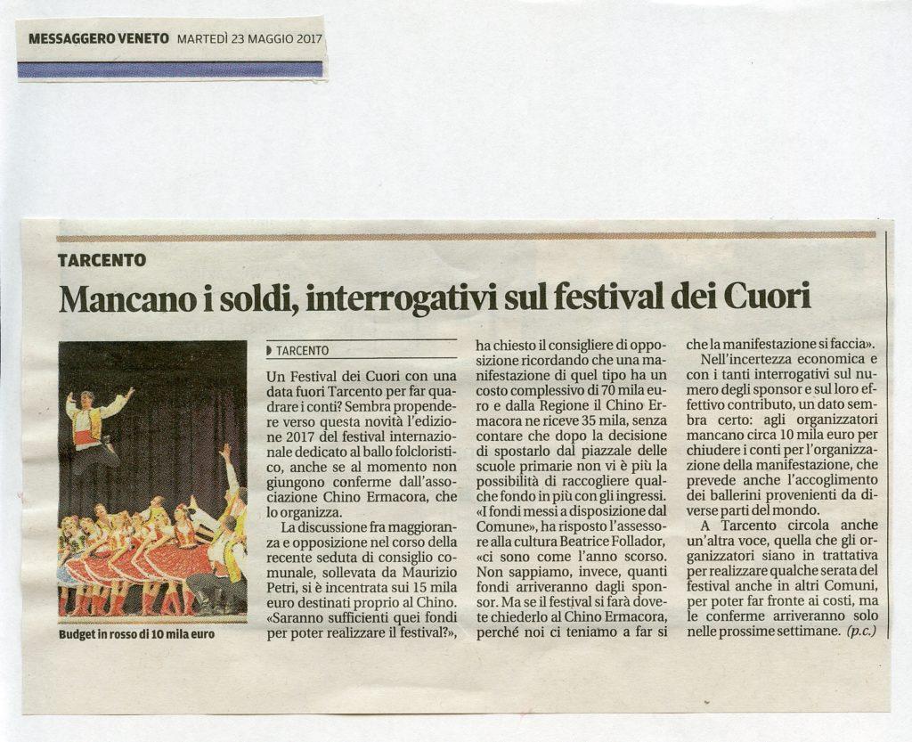 Messaggero Veneto 27.05.2017