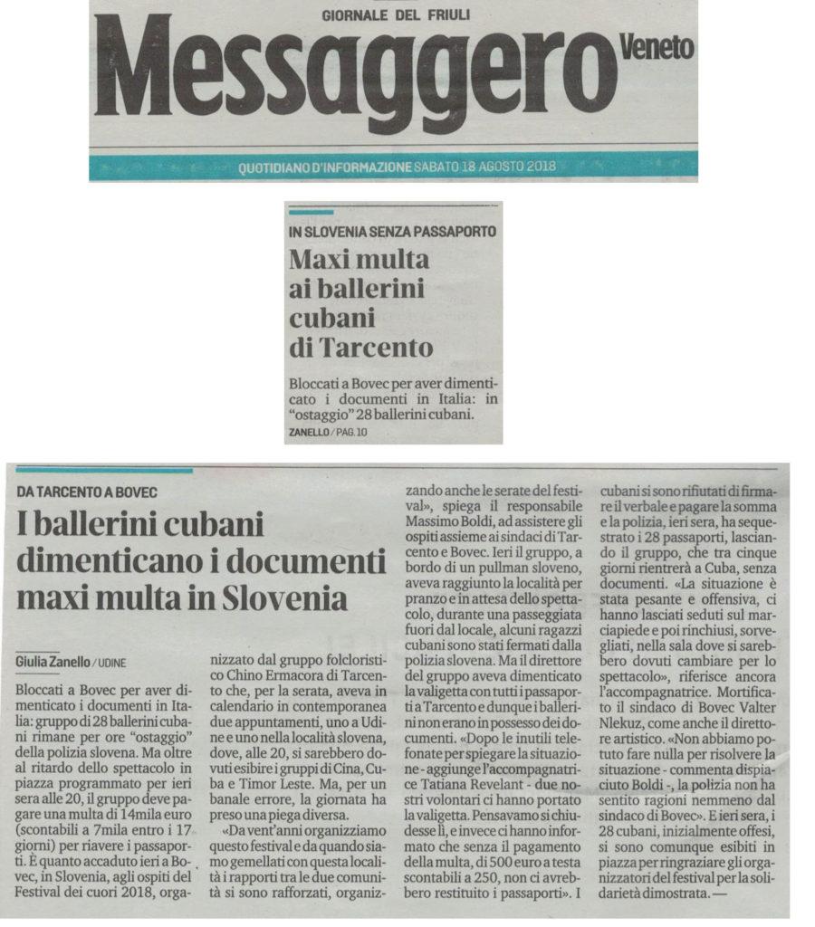 Messaggero Veneto 18/08/2018