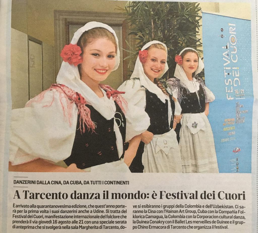 Messaggero Veneto 03/08/2018